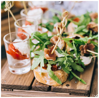 Let's talk about winter weddings – see how Gourmet can help you!